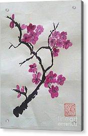 The Plum Blossom Acrylic Print