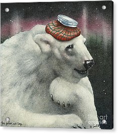 The Polar Ice Cap... Acrylic Print by Will Bullas