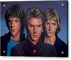 The Police Acrylic Print by Paul Meijering