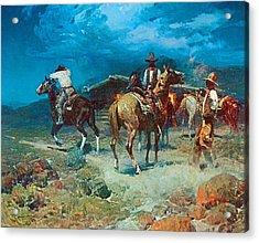 The Pony Express Acrylic Print