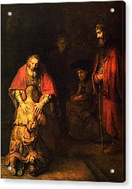 The Prodigal Son Acrylic Print