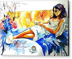 The Reader Acrylic Print
