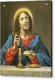 The Redeemer Acrylic Print by Carlo Dolci