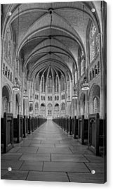The Riverside Church Acrylic Print