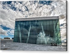 The Royal National Opera House In Oslo Norway Acrylic Print