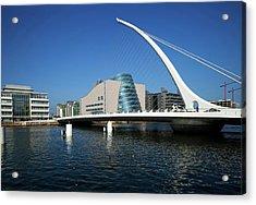 The Samual Beckett Bridge Acrylic Print