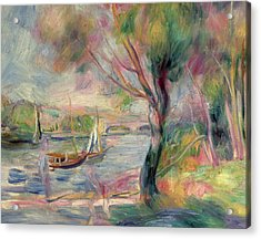 The Seine At Argenteuil Acrylic Print