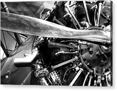 The Stearman Jacobs Aircraft Engine Acrylic Print