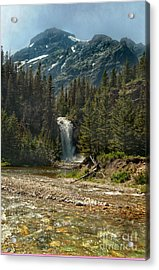 Serenity Fall Acrylic Print by The Stone Age
