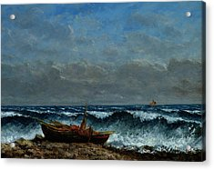 The Stormy Sea Acrylic Print