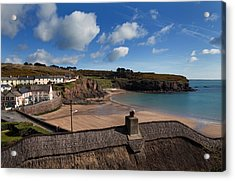 The Strand Inn And Dunmore Strand Acrylic Print