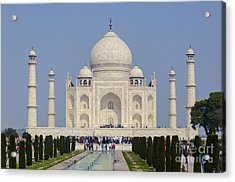 The Taj Mahal Acrylic Print