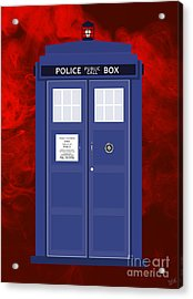 The Tardis Acrylic Print