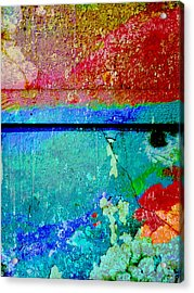 The Wall Abstract Photograph Acrylic Print