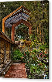 The Wayfarers Chapel Acrylic Print