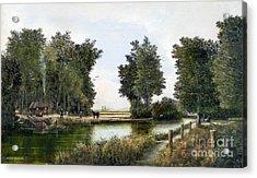The Woodman Acrylic Print
