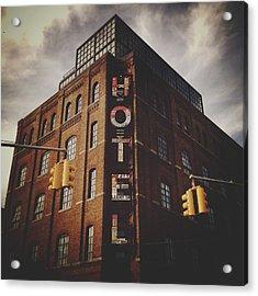 The Wythe Hotel Acrylic Print