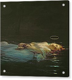 The Young Martyr Acrylic Print