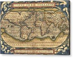 Theatrum Orbis Terrarum  Acrylic Print