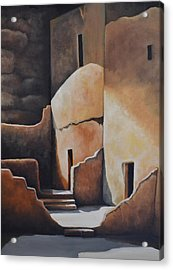 They Were Once Here Acrylic Print by Martin Schmidt