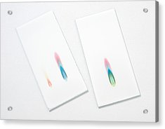 Thin-layer Chromatography Acrylic Print