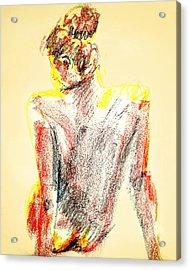 Thinking Back Acrylic Print