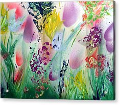 Thinking Of Spring Acrylic Print