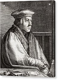 Thomas Cromwell, English Statesman Acrylic Print by Middle Temple Library