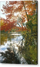 Thompson Landing Acrylic Print by Bruce Thompson