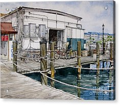 Thompson's Docks  Acrylic Print