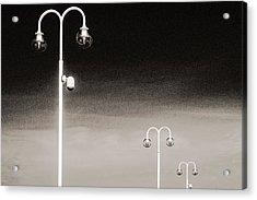 Three Acrylic Print by Arkady Kunysz