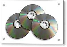 Three Discs Acrylic Print by Jorgo Photography - Wall Art Gallery