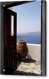 Through This Door Acrylic Print