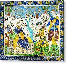 Tile Panel Acrylic Print