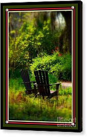 Time For Coffee Acrylic Print by Susanne Van Hulst