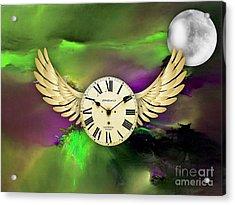 Time Acrylic Print by Marvin Blaine