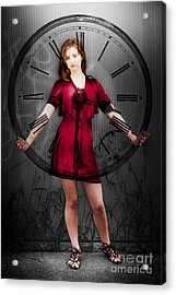 Time Acrylic Print by Jorgo Photography - Wall Art Gallery