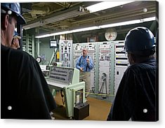 Titan Missile Control Room Acrylic Print by Jim West