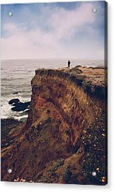 To The Ends Of The Earth Acrylic Print by Laurie Search