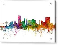 Toledo Ohio Skyline Acrylic Print