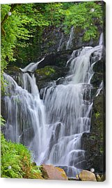 Torc Waterfall Killarney Ireland Acrylic Print by Jane McIlroy