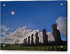 Total Solar Eclipse Acrylic Print