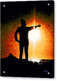 Touching The Sun Acrylic Print