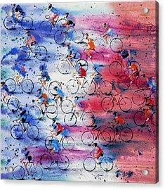 Tour De France Acrylic Print by Neil McBride