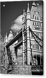 Tower Bridge In London Acrylic Print