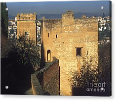 Tower Of The Cadi The Alhambra Acrylic Print