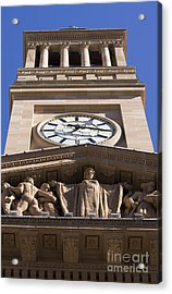 Tower Town Hall Acrylic Print by Jorgo Photography - Wall Art Gallery