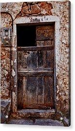 Traditional Door Acrylic Print