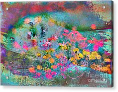Acrylic Print featuring the photograph Transparent by Chris Armytage
