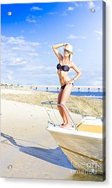 Travel Holiday Lookout Acrylic Print by Jorgo Photography - Wall Art Gallery
